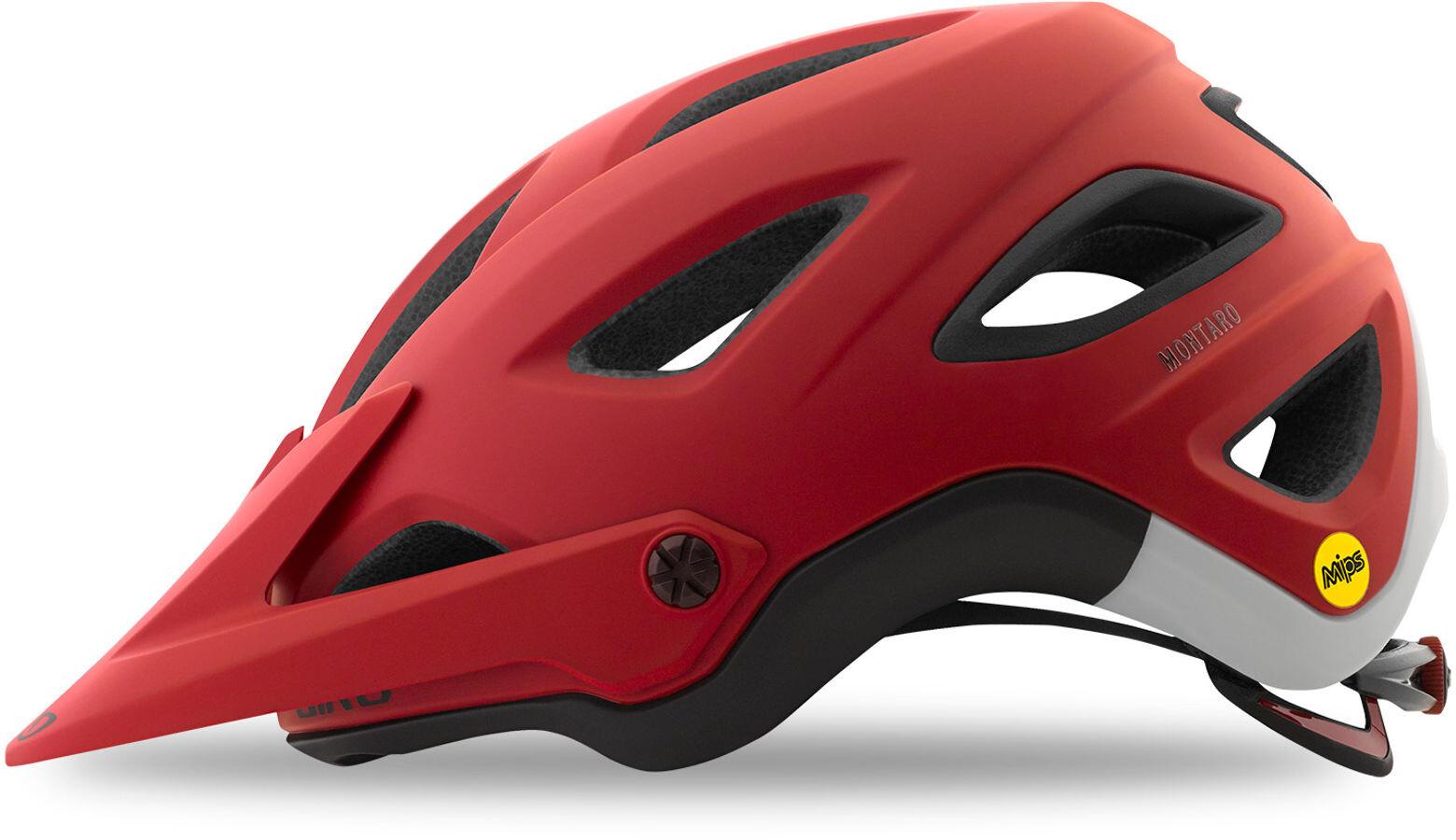 giro montaro mips bike helmet men red at. Black Bedroom Furniture Sets. Home Design Ideas